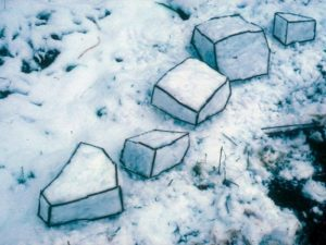 Andy Goldworthy Snow Sculpture 575x431 1
