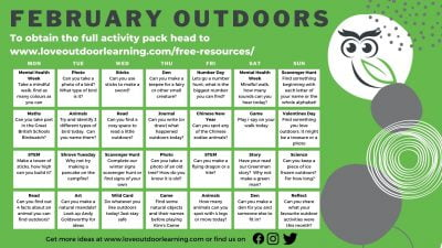 Feb Month Of Outdoors