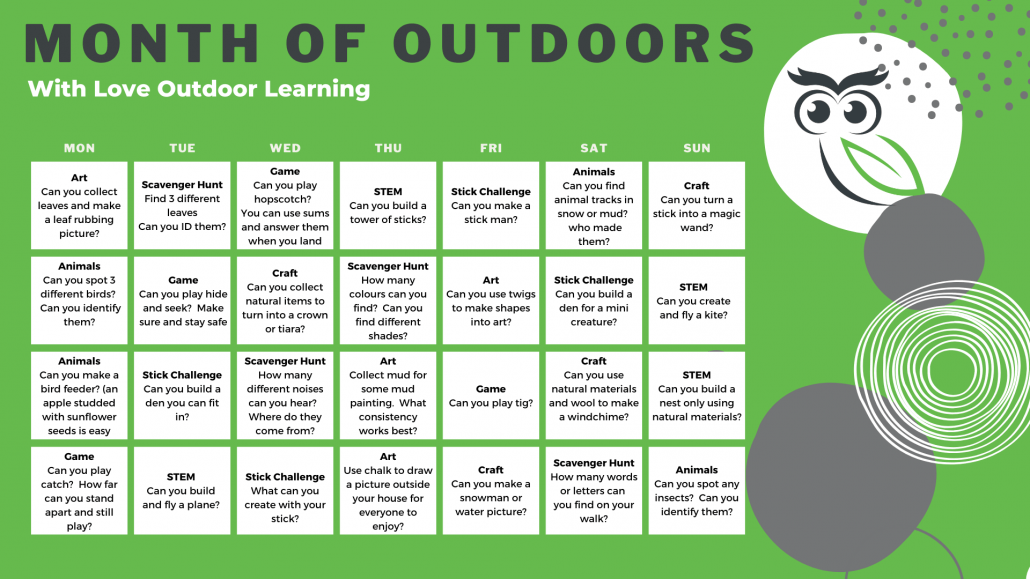 Month Of Outdoors